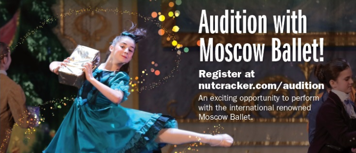 Moscow Ballet Audition, August 29th 2015